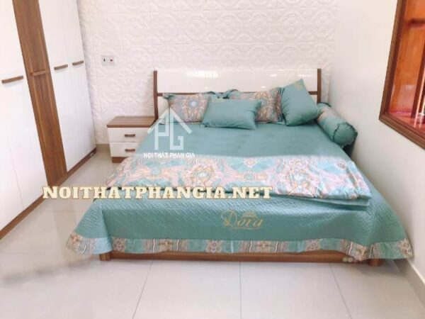 giường tủ gỗ 9608B
