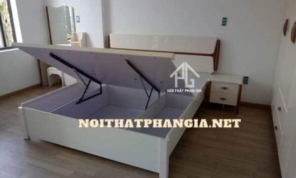 giường tủ gỗ ab9608b hiện đại