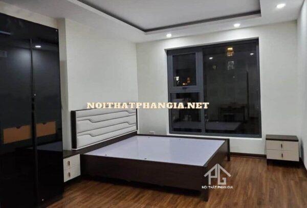 giường tủ phòng ngủ hiện đại AB9508