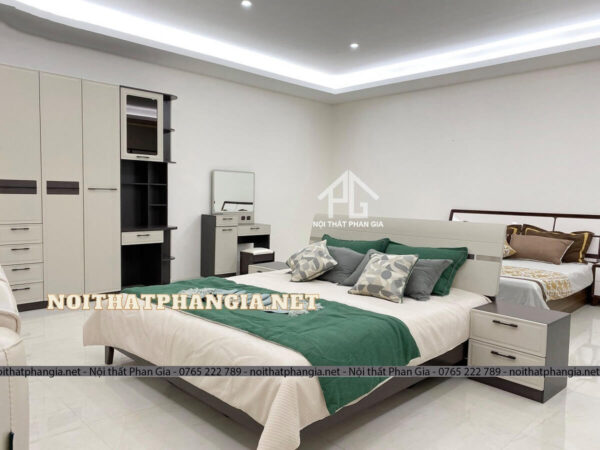 giường tủ quần áo góc tư b2001ztt