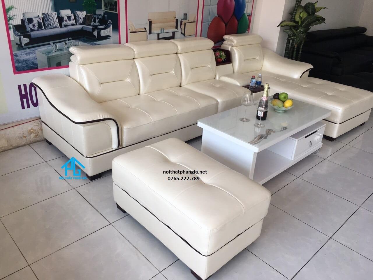 kích thước phổ biến của bộ sofa hiện đại;