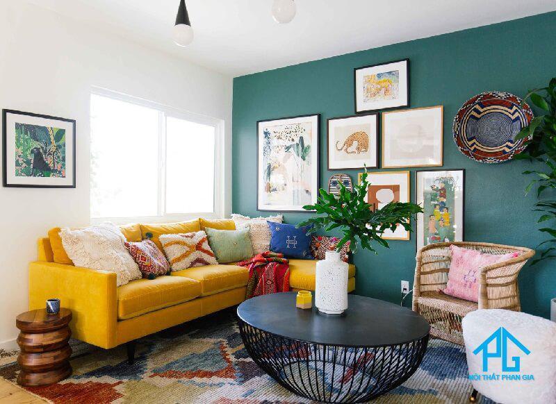 kích thước sofa vải chuẩn