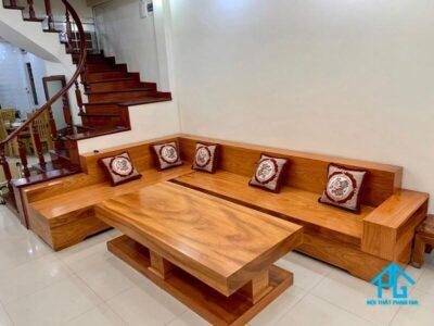 kinh nghiệm mua bàn ghế sofa gỗ