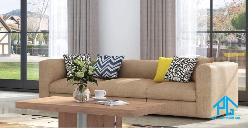 lưu ý khi mua sofa vải bố