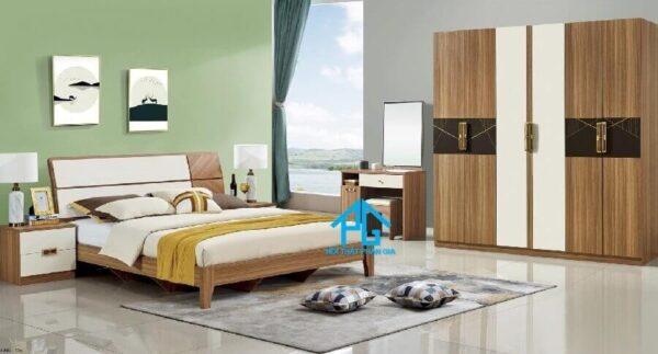 mẫu bộ giường tủ ab8901 phan gia