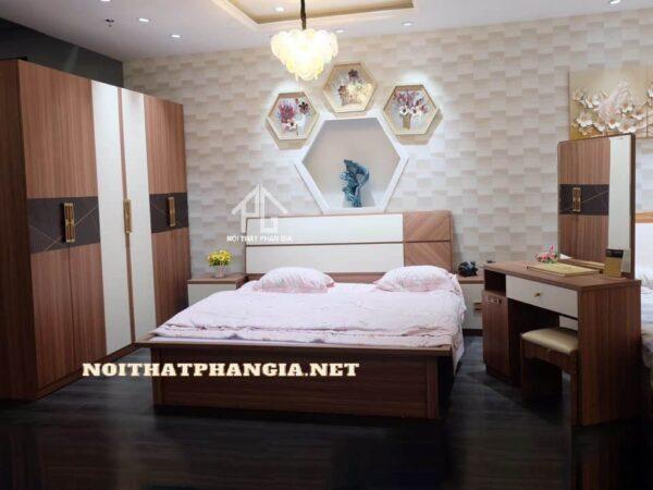 mẫu giường tủ giá rẻ ab8901