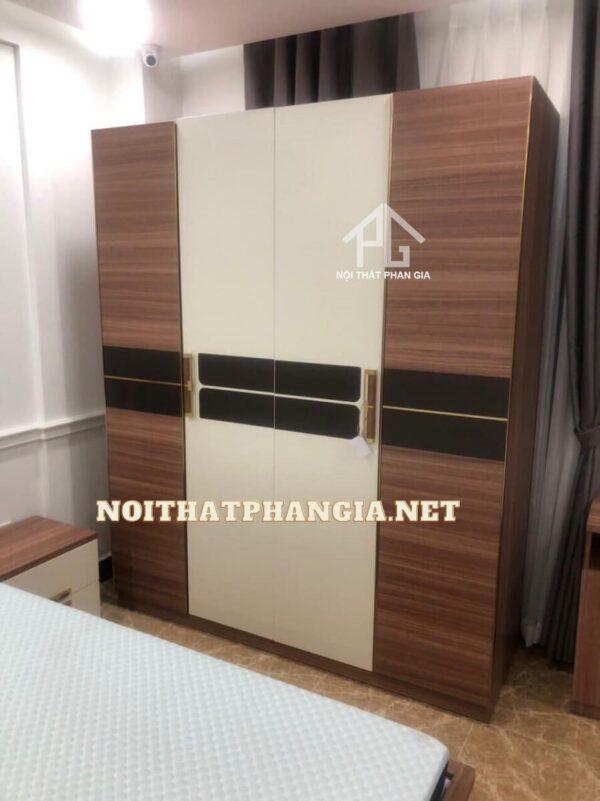 mẫu giường tủ phòng ngủ ab8901