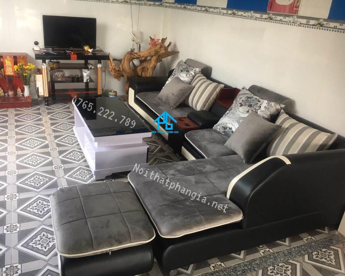 mua ghế sofa nhung giá rẻ;