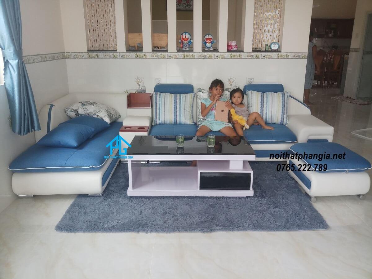 sofa băng vải bố;