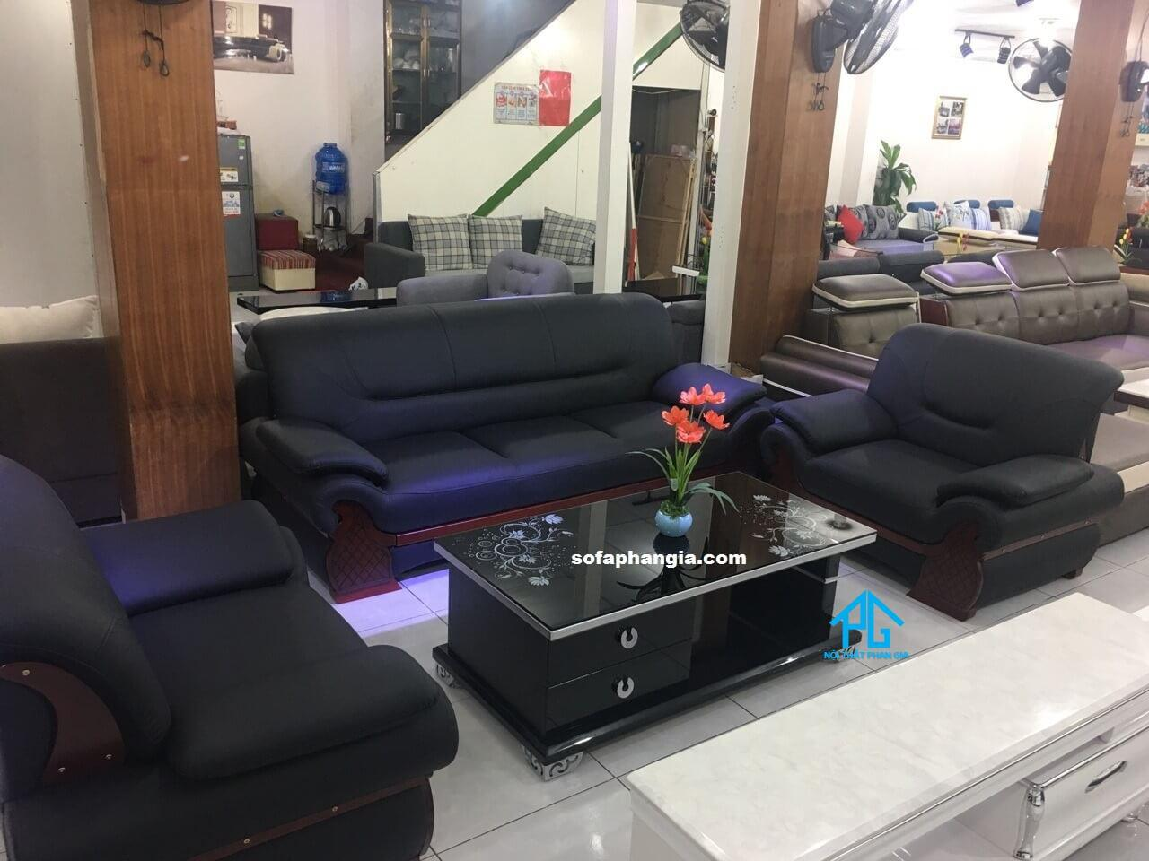 sofa da chất lượng hcm;