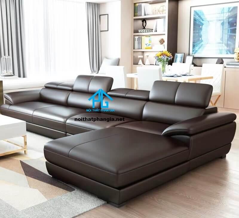 Sofa da hiện đại E01-AA