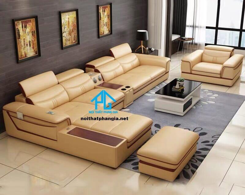 Sofa da hiện đại E20 -AQ