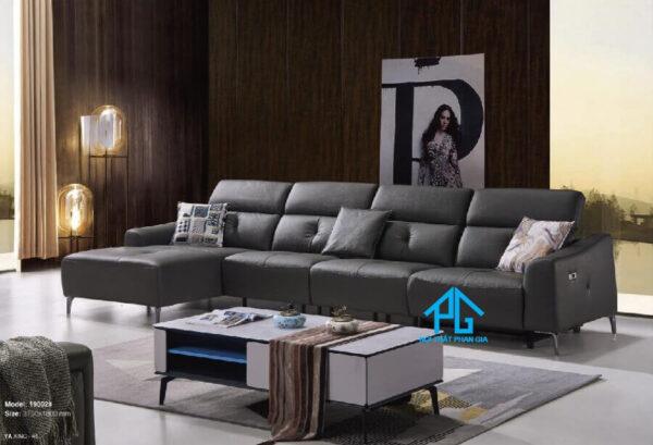 Sofa da nhập khẩu KB 1902