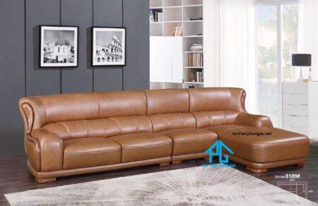 Sofa da nhập khẩu KB 9109