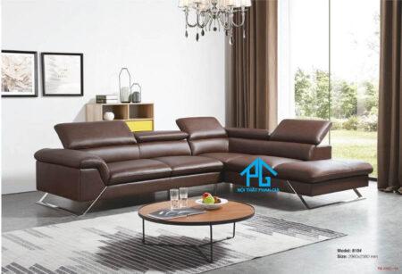 Sofa da nhập khẩu KB 993A