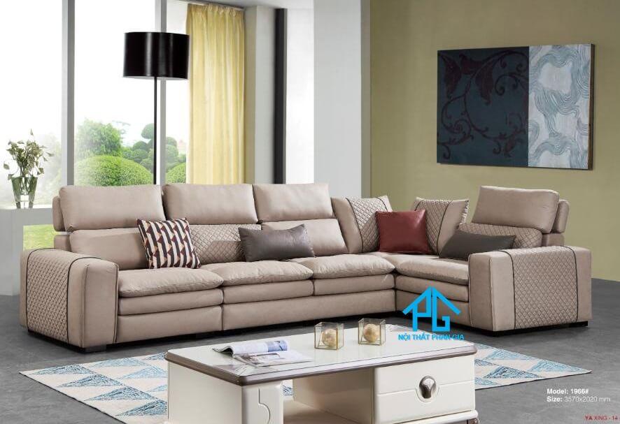 Sofa da nhập khẩu PG1966