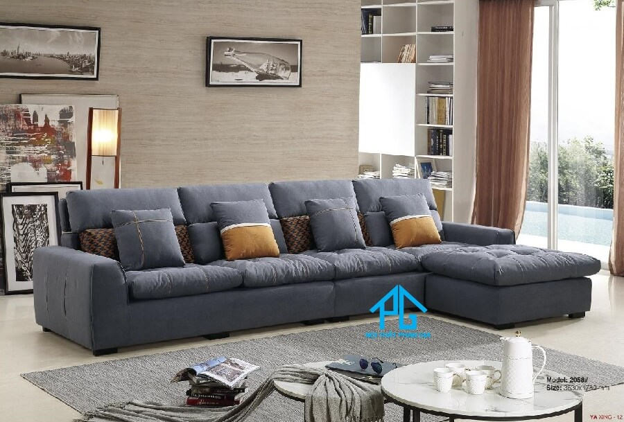 Sofa da nhập khẩu PG2058T