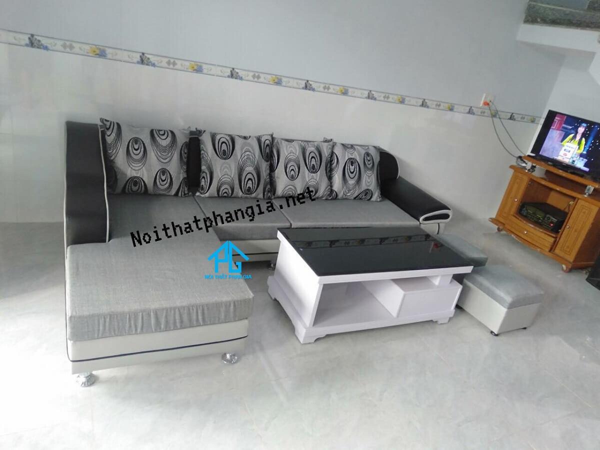 sofa vải nỉ giá rẻ hà nội;