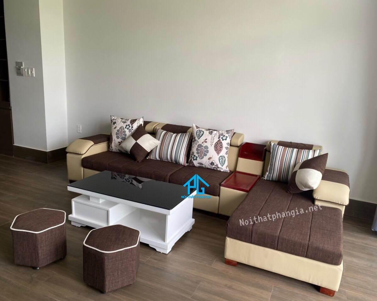 sofa vải bố giá rẻ chất lượng;