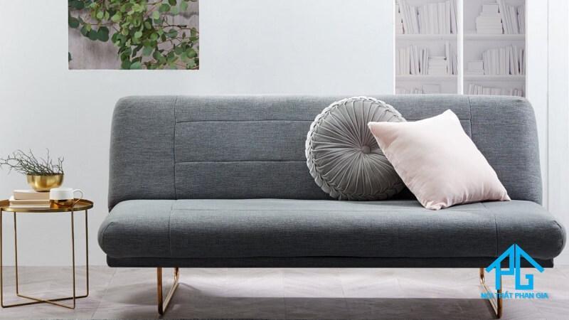 sofa vải bố thiết kế cao cấp