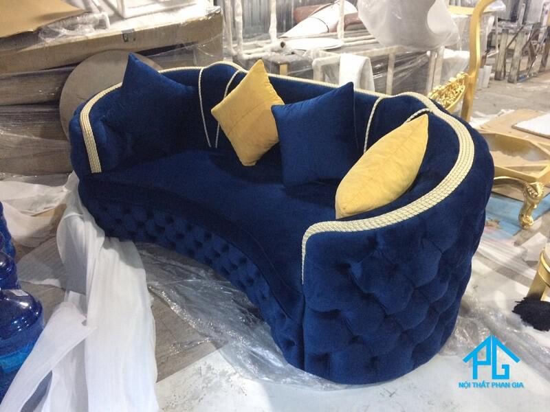 sofa vải cổ điển