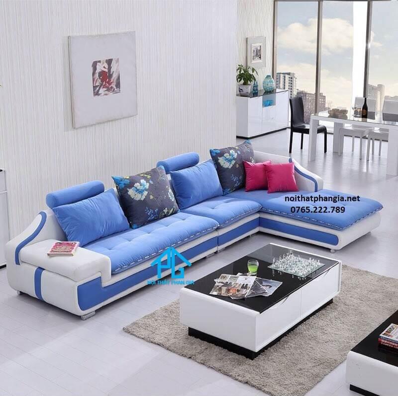 sofa vải nhung cổ điển;