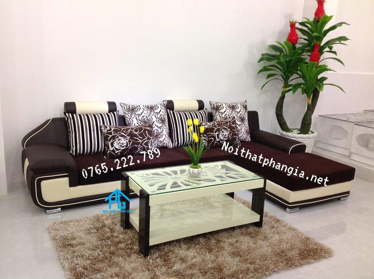 sofa vải nỉ nhập khẩu đài loan