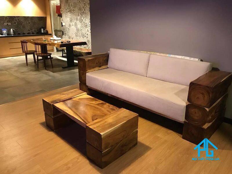 sofa văng gỗ cao cấp