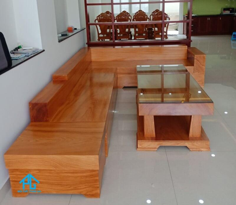 tiêu chí đánh giá sofa gỗ