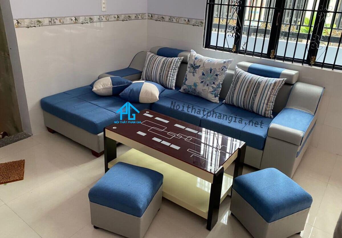 trang trí ghế sofa;