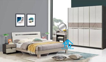 Trọn bộ giường tủ nhập khẩu AB 29A03