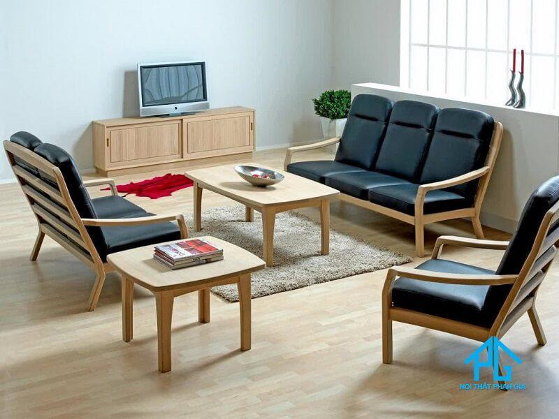 vì sao nên mua bộ sofa gỗ