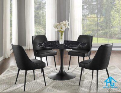 bàn ăn mặt đá marble 4 ghế
