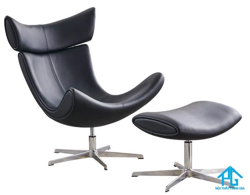 ghế sofa đơn chân xoay