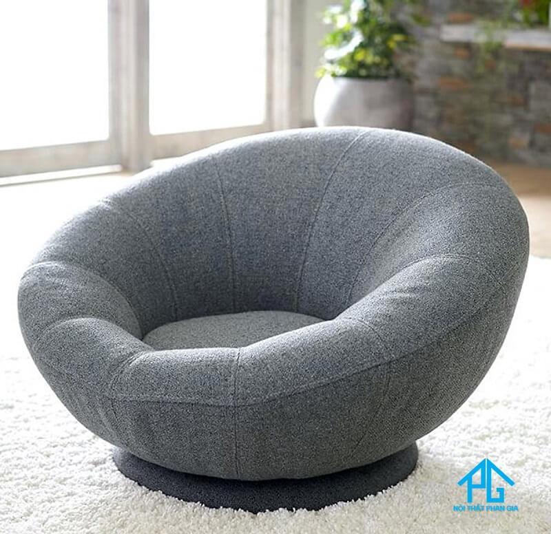 ghế sofa đơn tròn