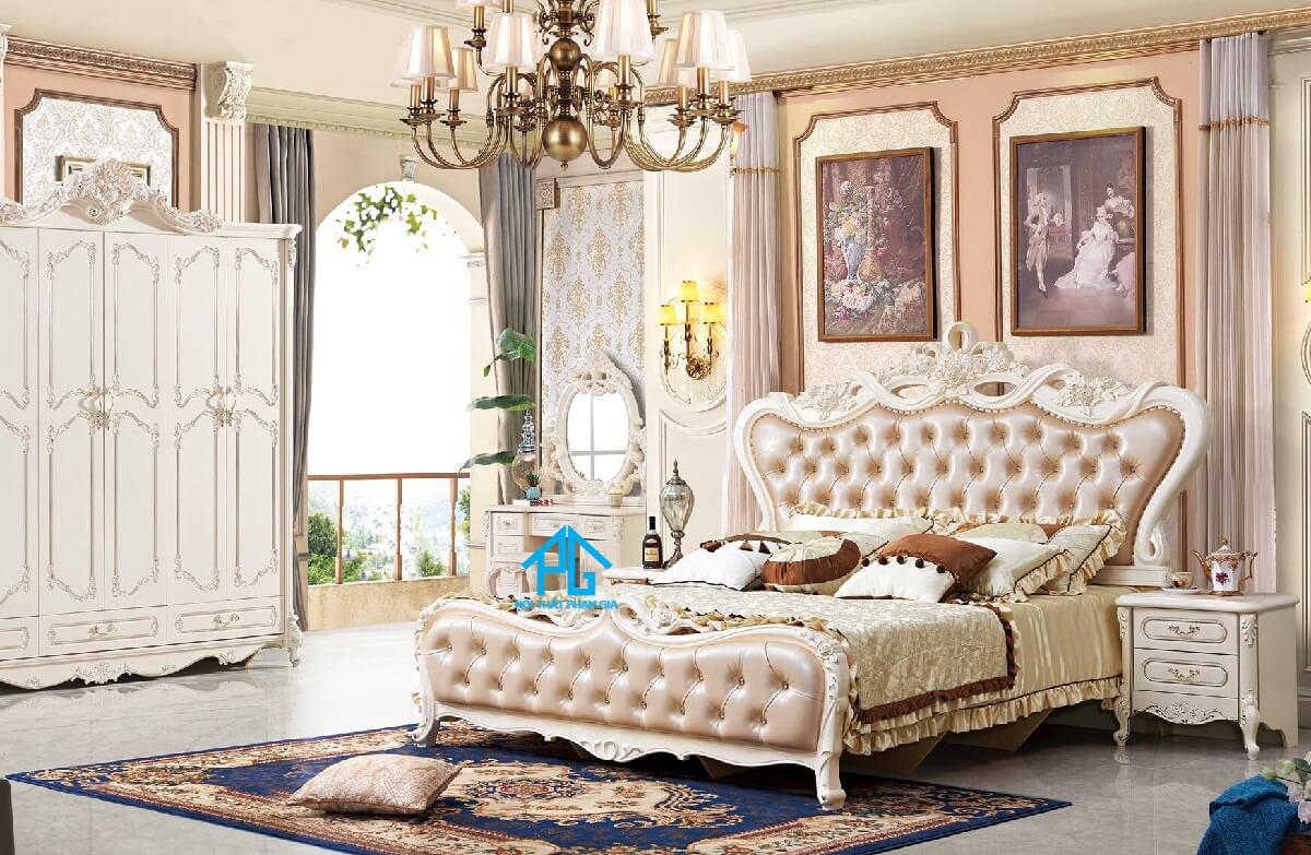giá giường ngủ tân cổ điển;