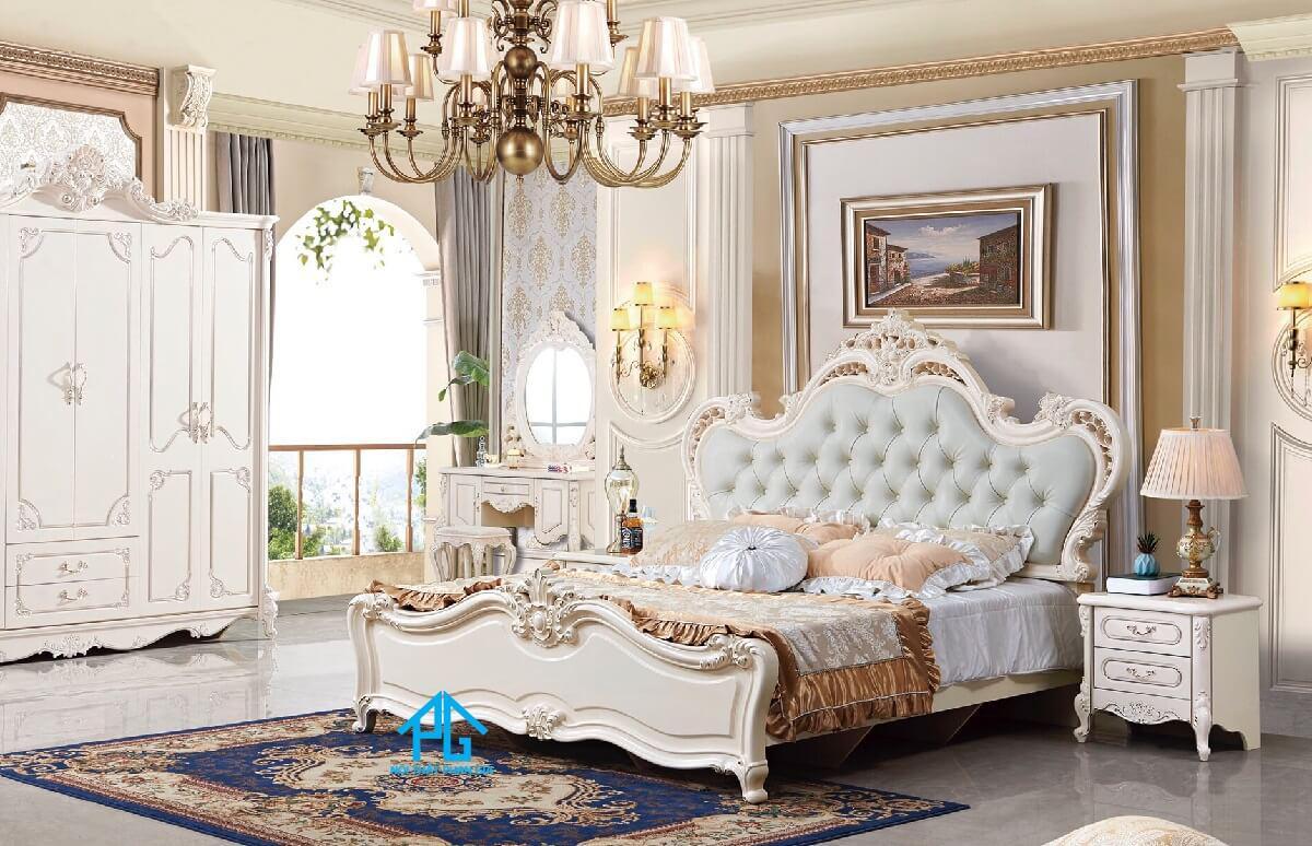 giá giường ngủ tân cổ điển cao cấp;