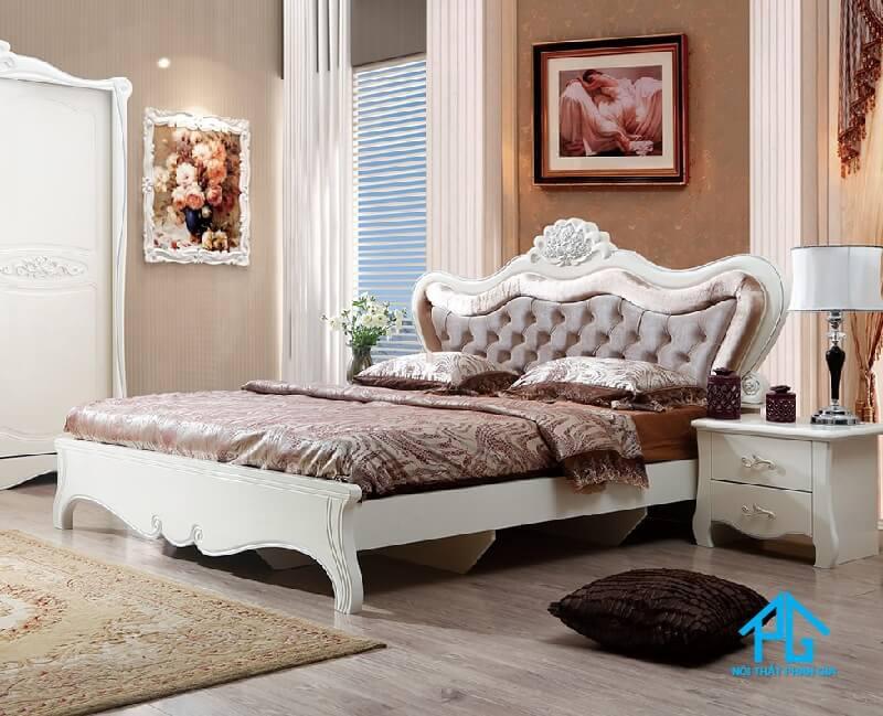 giường tủ tân cổ điển nhập khẩu