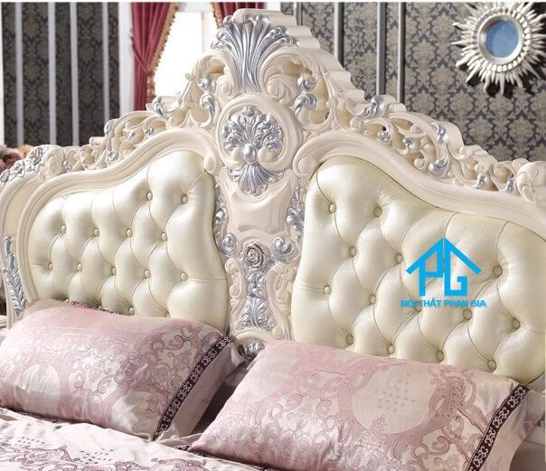 mẫu giường tân cổ điển đẹp