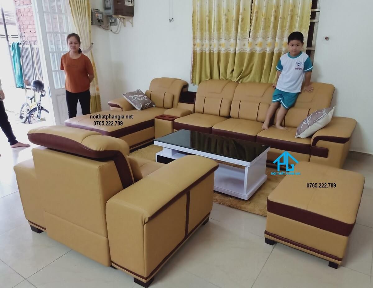 sofa đơn phòng khách sang trọng;