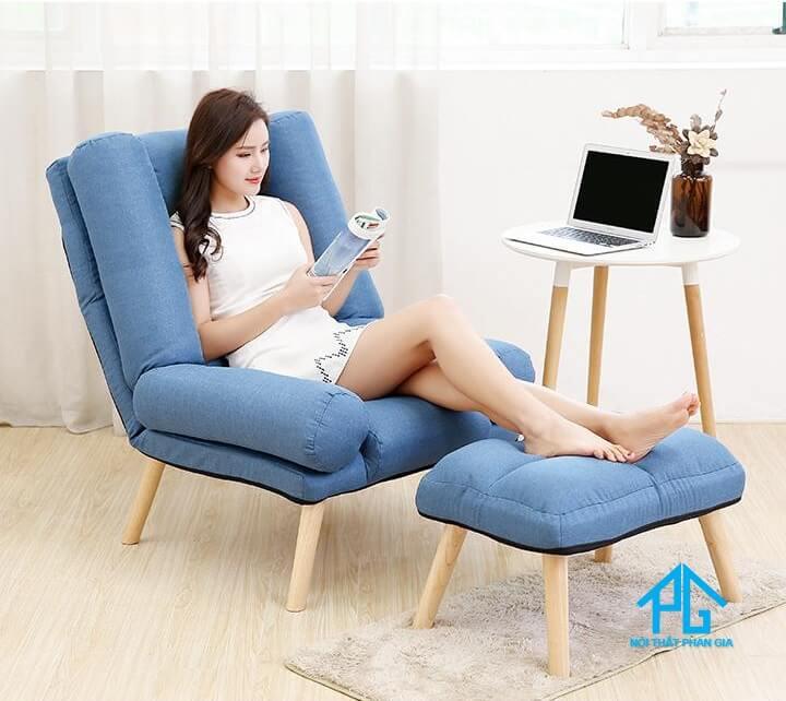 sofa đơn thư giản phòng ngủ