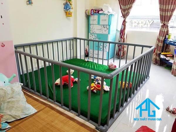 thiết kế quay cũi tại nhà cho bé