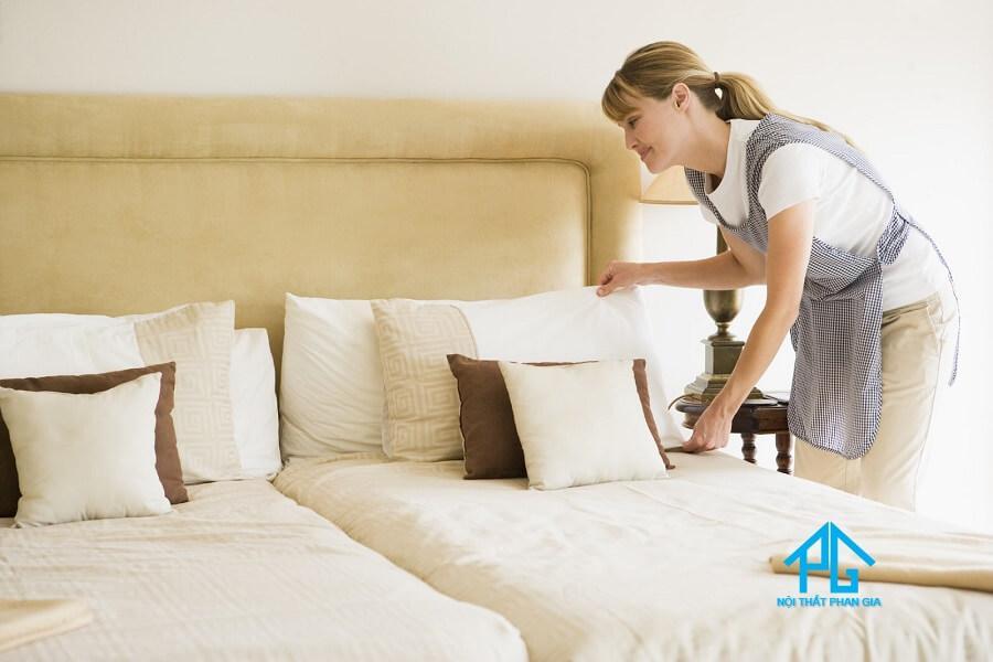 cách vệ sinh nội thất phòng ngủ