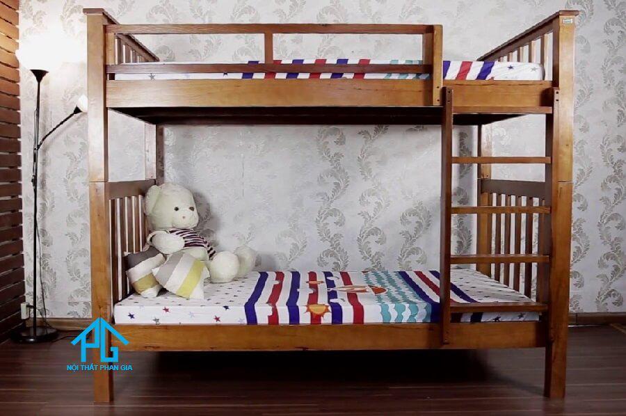 Có nên mua giường tầng gỗ tự nhiên?