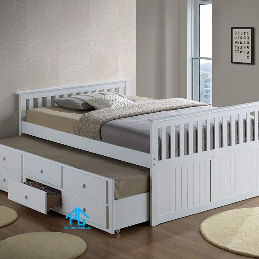 giường 2 tầng dạng kéo