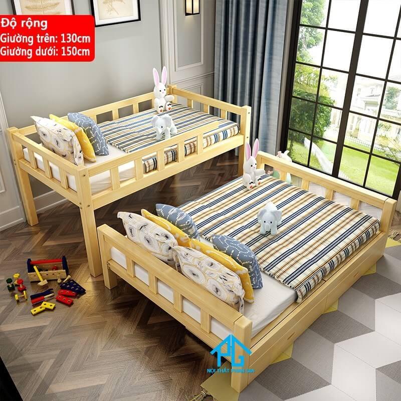 giường 2 tầng tách ra giường đơn