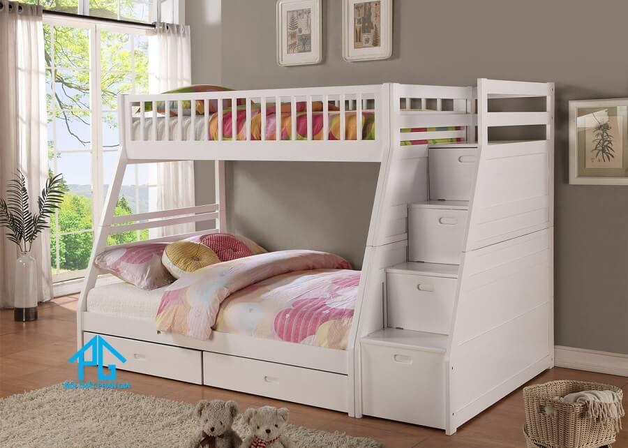 giường 2 tầng trẻ em nhập khẩu