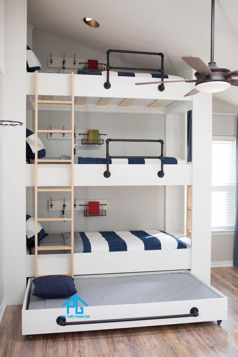 giường tầng cho bé có an toàn
