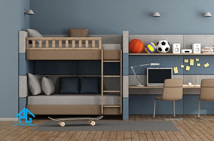 giường tầng gỗ người lớn