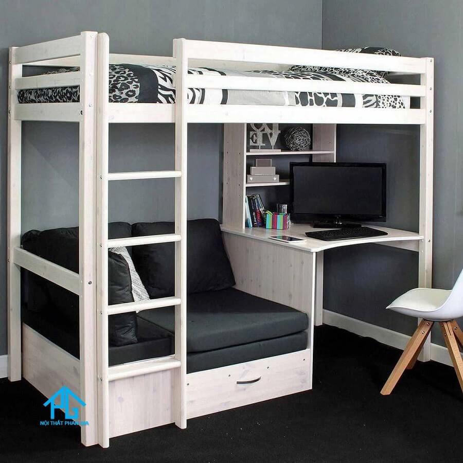 giường tầng gỗ thông minh